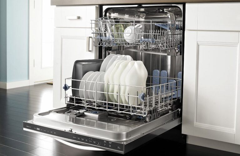 Whirlpool Open Dishwasher