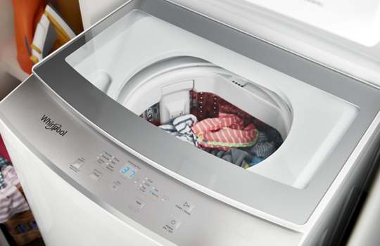 1 8 Cu Ft I E C Electric Stacked Laundry Center 6 Wash