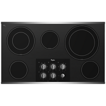 Whirlpool Gold® 36-inch Electric Ceramic Glass Cooktop with Two Dual Radiant Elements