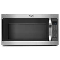 Whirlpool® 2.0 cu. ft. Microwave Hood Combination with CleanRelease® Non-Stick Interior