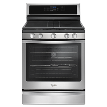5.8 Cu. Ft. Freestanding Gas Range with EZ-2-Lift™ Hinged Grates
