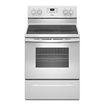 Whirlpool® 4.8 Cu. Ft. Freestanding Electric Range with FlexHeat™ Dual Radiant Element