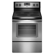 Whirlpool 5.3 Cu. Ft. Freestanding Electric Range with High-Heat Self-Cleaning System