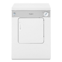 Whirlpool® 3.4 cu.ft. Compact Electric Dryer with AccuDry™ Drying System