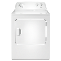 Whirlpool® 7.0 cu. ft. Top Load Paired Dryer with the Wrinkle Shield™ option