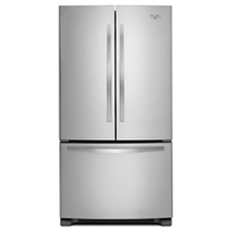 Whirlpool® 22 cu. ft. French Door Refrigerator with Accu-Chill™ system