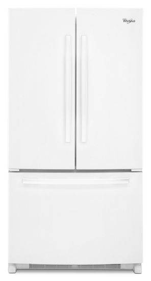 Whirlpool 20 Cu Ft French Door Refrigerator With Counter Depth