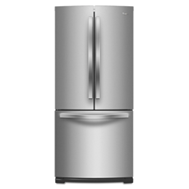 Whirlpool® 19.6 cu. ft. French Door Refrigerator with More Usable Capacity