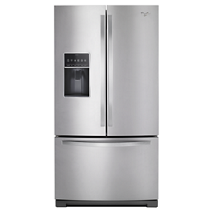 Whirlpool® 36-inch Wide French Door Bottom Freezer Refrigerator with Dual Icemakers - 27 cu. ft.