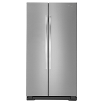 Whirlpool® 21 cu. ft. Whirlpool® Side-by-Side Refrigerator with LED Lighting