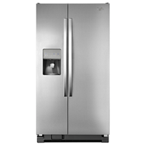 Whirlpool® 21 cu. ft. Side-by-Side Refrigerator with Water Dispenser