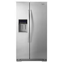 Whirlpool® 21 cu. ft. Side-by-Side Refrigerator with Counter Depth Styling